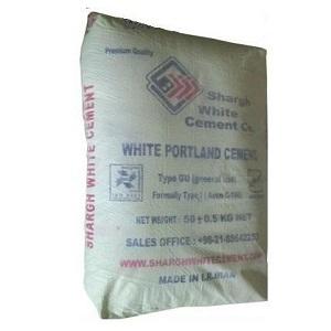 цемент белый иран